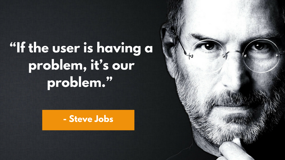 Steve Jobs Quote on User Experience