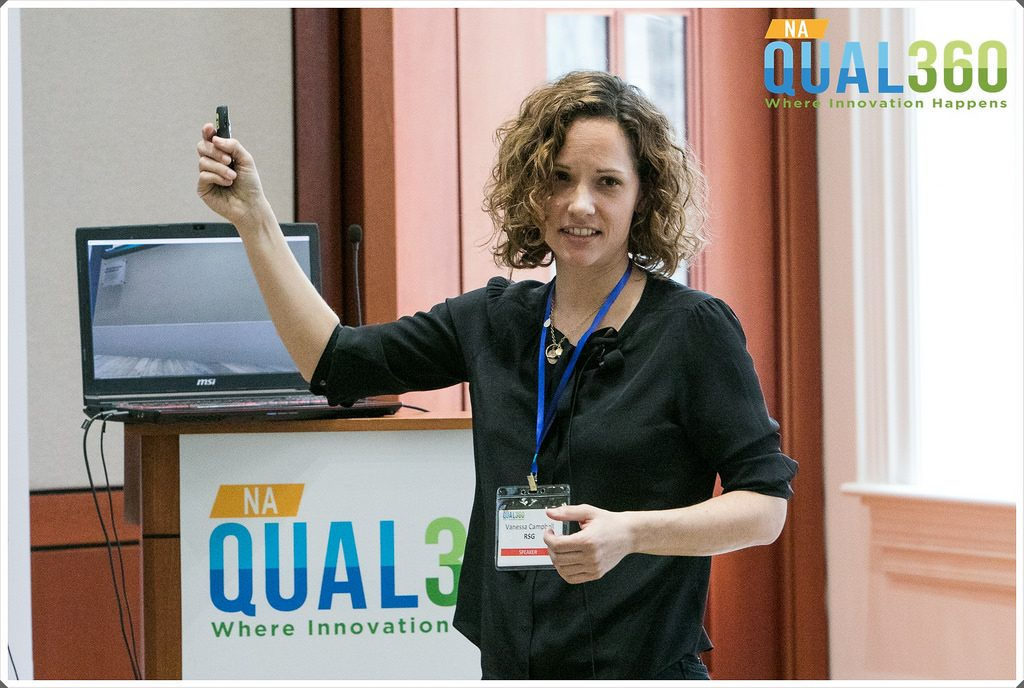 Vanessa Campbell of RSG at QUAL360