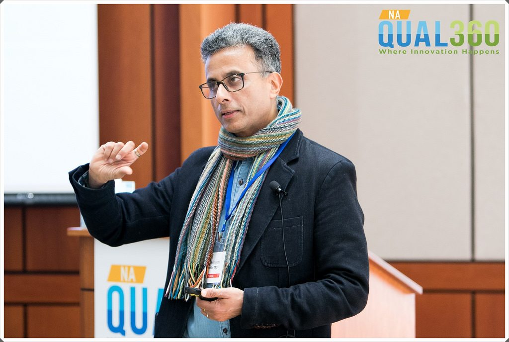 Sandeep Dutta of Kantar TNS at QUAL360