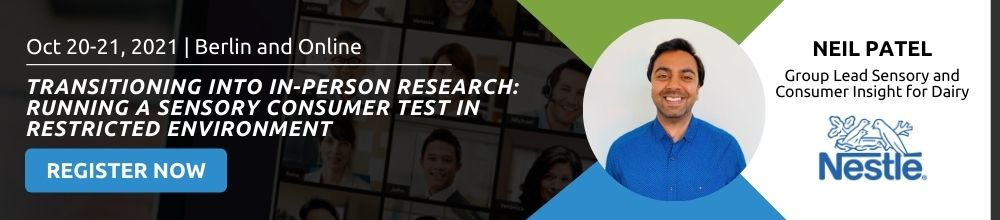 Face-to-face research with Nestlé: Consumer Insight and Qualitative Research